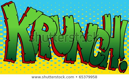 Krunch Sound Effect Stock photo © cteconsulting