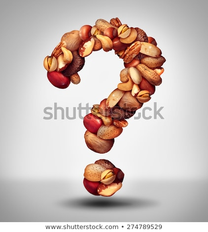 Nut Question Stock photo © Lightsource