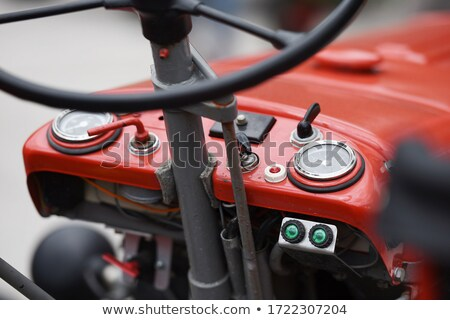 motor from a tractor stock photo © acidfox