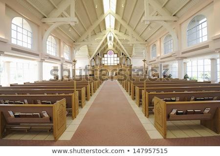 interiors of a church stock fotó © imagedb