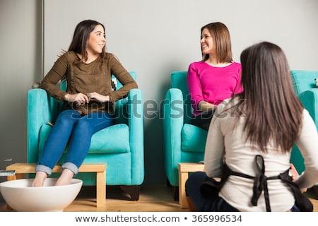 клиентов педикюр женщину красоту службе Сток-фото © wavebreak_media