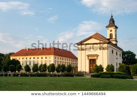 Faible forteresse République tchèque Voyage architecture usine Photo stock © phbcz