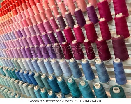 Renkli nakış iplik moda çalışmak siyah Stok fotoğraf © robinsonthomas