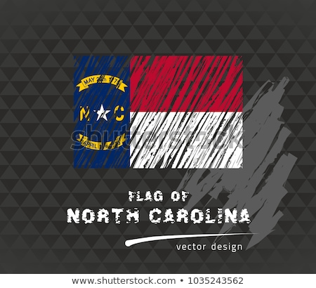 north carolina state flag grunge background stock photo © nirodesign