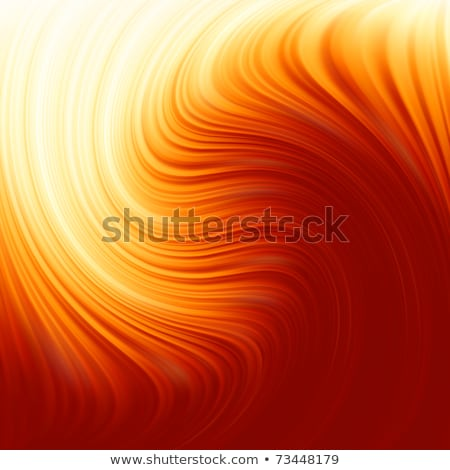 Abstract glow Twist with golden flow. EPS 8 Stock photo © beholdereye