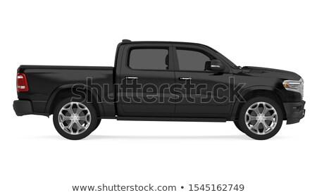 A black pickup Stock photo © bluering