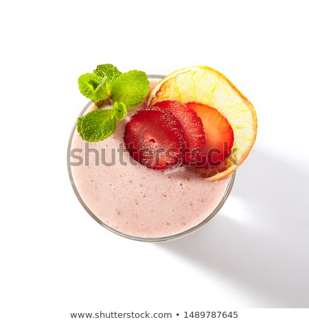 A topview of a glass of cocktail Stock photo © bluering
