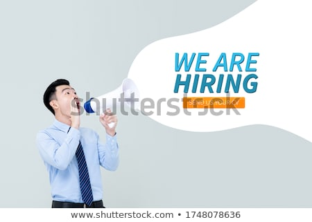 You are hired word Stock photo © fuzzbones0