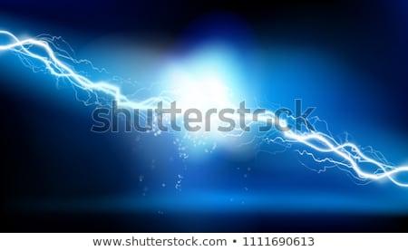 Lighting Strike Background Stock photo © Suljo