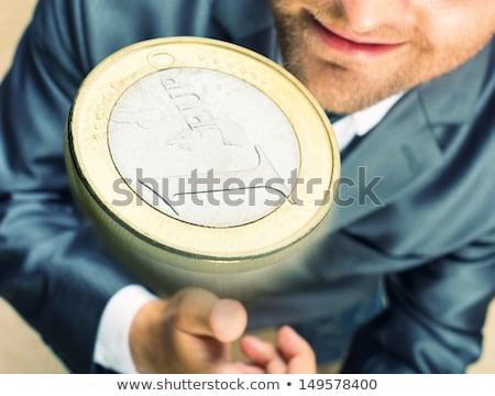 ビジネスマン 手 コイン 意思決定 ストックフォト © stevanovicigor
