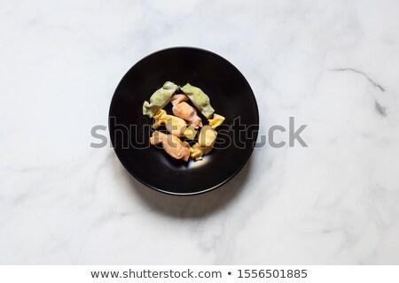 Caramelle-shaped stuffed pasta  Stock photo © Digifoodstock