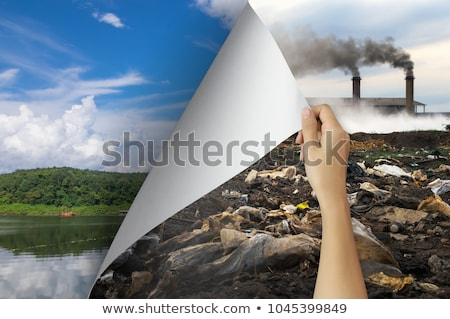 Different scene with climate changes Stock photo © bluering