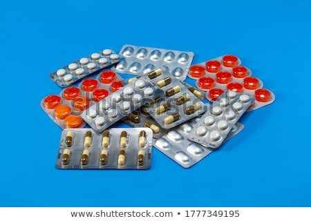 pills in packing closeup stock photo © oleksandro