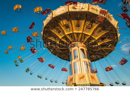 A carousel ride stock photo © bluering