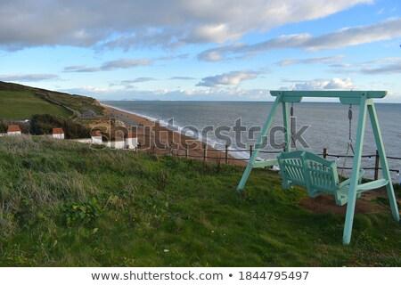 Popular praia inglaterra Reino Unido usado tv Foto stock © CaptureLight