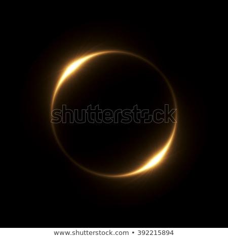 lente · estrellas · brillante · solar · negro · fondo - foto stock © frankljr