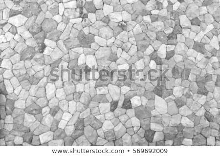 Granit taş fayans duvar Stok fotoğraf © Klinker