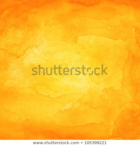 Orange watercolor texture background. Watercolor brush stroke Stock photo © SArts