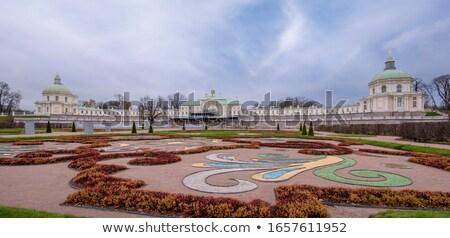 宮殿 ロシア 空 建物 庭園 緑 ストックフォト © serpla
