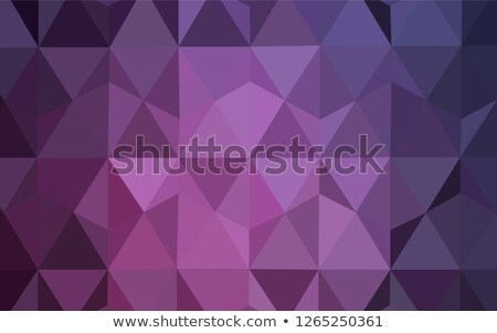 Abstract polygonal triangles poster.  Stock photo © fresh_5265954