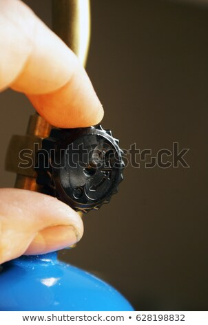 Torch Dial Adjustment Stock photo © AlphaBaby