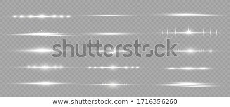 透明な · 白 · 光 · 効果 · ベクトル · 火災 - ストックフォト © SArts
