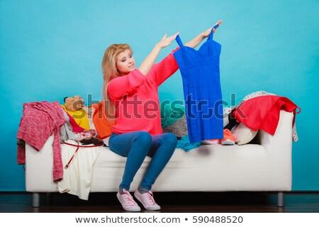 女性 · 服 · 着用 · 服 · クローゼット - ストックフォト © nobilior