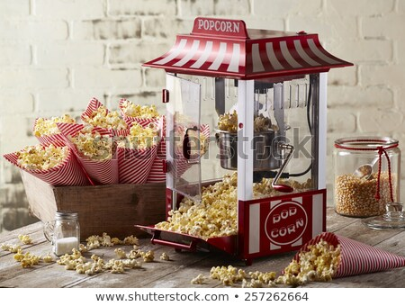 Popcorn machine stock photo © alessandro0770