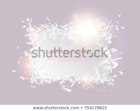 fantasia · explosão · abstrato · luz · projeto · ciência - foto stock © iaroslava