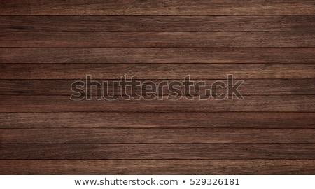 Escuro marrom textura de madeira superfície tabela Foto stock © pakete