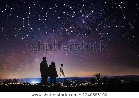watch the sky with telescope Stock photo © adrenalina