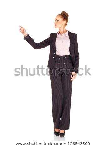 意外 · パーセンテージ · 女性実業家 · 驚いた · 作業 · 仕事 - ストックフォト © traimak