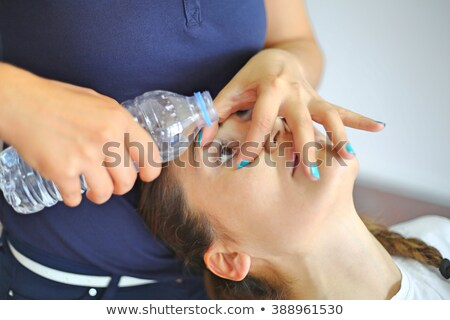 First aid eye wash Stock photo © bluering
