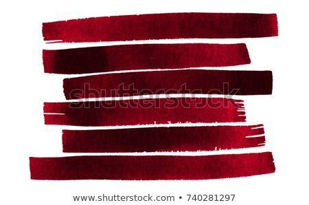 Red painted textured abstract background with brush strokes in gray and black shades. Stock photo © ivo_13