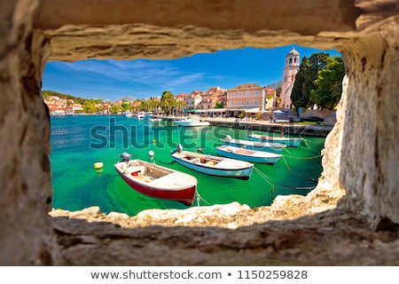Stock photo: Turquoise waterfront of Cavtat view