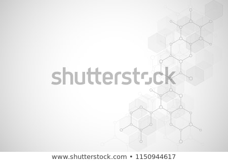 chemical structure vector background design element Stock photo © blaskorizov