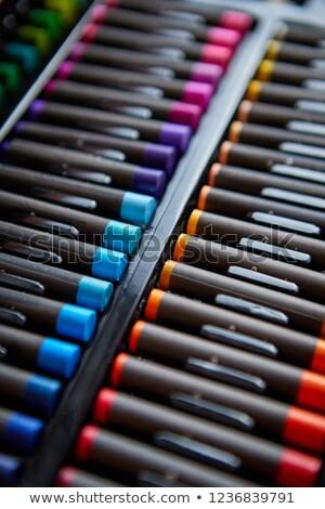 crayons · coloré · crayons · isolé · blanche - photo stock © dash