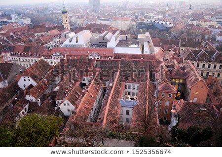 Graz market cityscape and cityscape view stock photo © xbrchx
