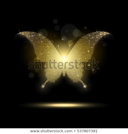 papillons · vecteur · blanche · modèle - photo stock © artspace