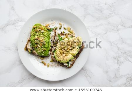 домашний · здорового · авокадо · хлеб · bio · здоровое · питание - Сток-фото © melnyk