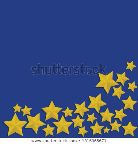красочный флагами падение звезды Сток-фото © Andrei_