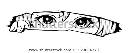 Peeping Eye Stock photo © mayboro