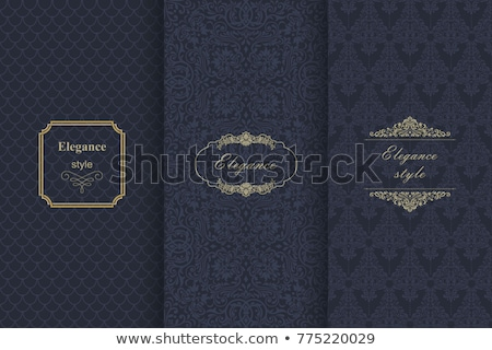 Greeting card ornamented background Vector. Royal luxury texture Stock photo © frimufilms