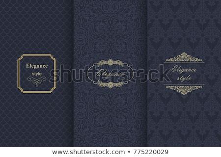 Wenskaart vector koninklijk luxe textuur elegante Stockfoto © frimufilms