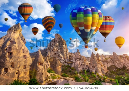 cave and balloons stock photo © colematt