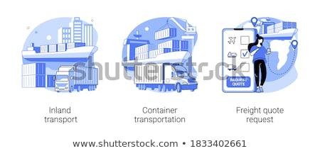 Citaat aanvragen klant kiezen om levering Stockfoto © RAStudio
