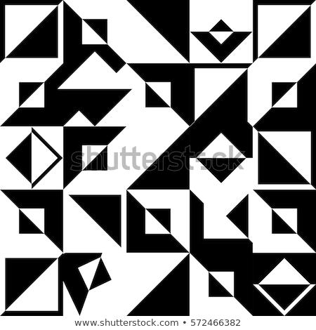 Mínimo triángulo repetitivo patrón diseno textura Foto stock © SArts