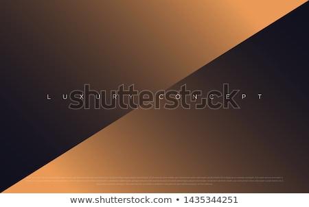 Stock photo: royal invitation background in golden premium style