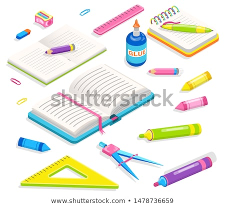 School Chancery, Office Accessory, Supplies Vector Stock photo © robuart