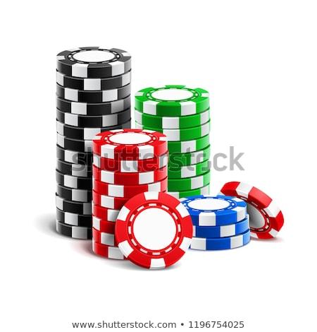 カジノチップ 演奏 ポーカー ギャンブル お金 ストックフォト © robuart